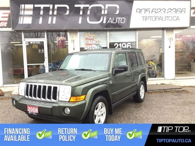 2008 JEEP COMMANDER Sport ** 7 Passenger, Leather, 4X4, V8 ** in Bowmanville, Ontario