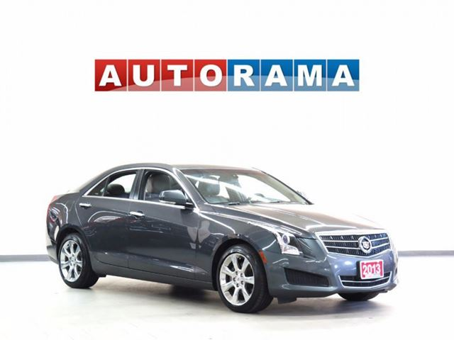 2013 CADILLAC ATS 4 AWD LEATHER SUNROOF BACKUP CAMERA in North York, Ontario