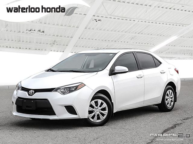 2014 TOYOTA COROLLA CE Special of the Week! One Owner. Automatic, A/C and More! in Waterloo, Ontario