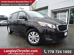 2017 Kia Sedona LX ACCIDENT FREE w/ 8-PASSENGERS, HEATED FRONT SEATS & REAR-VIEW CAMERA in Surrey, British Columbia