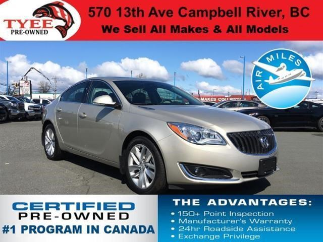 2016 BUICK REGAL Premium II in Campbell River, British Columbia