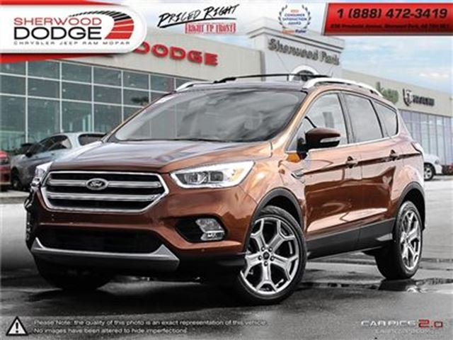 2017 FORD ESCAPE Titanium  BACK UP CAMERA  BLUETOOTH in Sherwood Park, Alberta