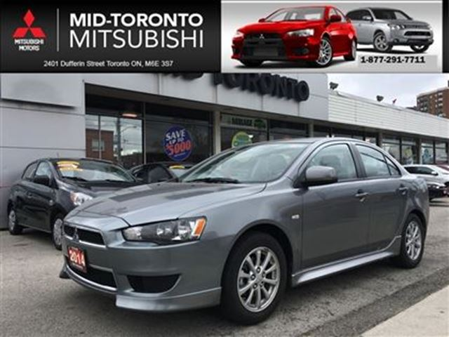 2014 Mitsubishi Lancer SE **low kms, local trade in in Toronto, Ontario