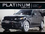 2016 Land Rover Range Rover Sport SVR, 550HP, NAVI, LANE DEPART, BLINDSPOT, CARBON in North York, Ontario