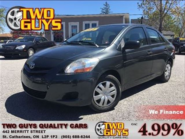 2007 TOYOTA YARIS LOCAL TRADE IN AUTO A/C in St Catharines, Ontario