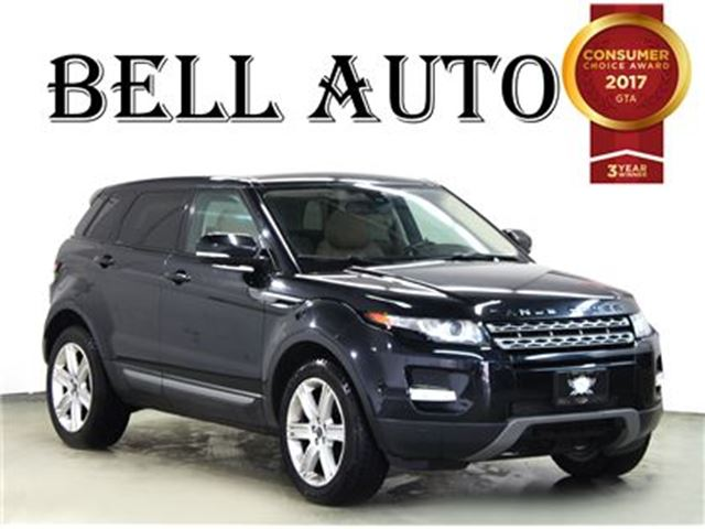 2012 Land Rover Range Rover Evoque PURE PLUS NAVIGATION PANORAMIC ROOF in Toronto, Ontario
