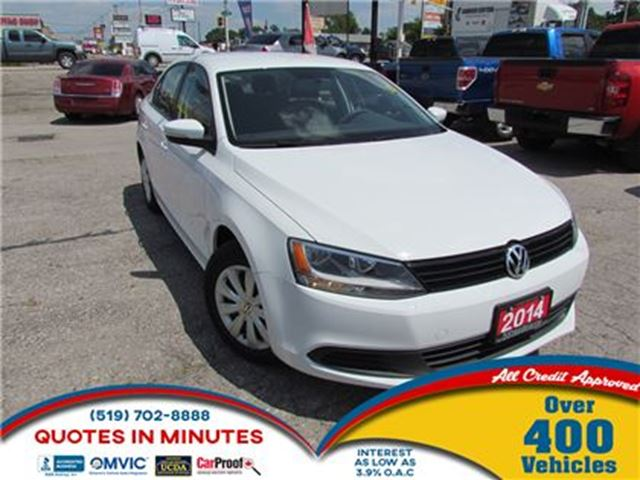2014 VOLKSWAGEN JETTA TRENDLINE +   HEATED SEATS   BACKUP CAM in London, Ontario