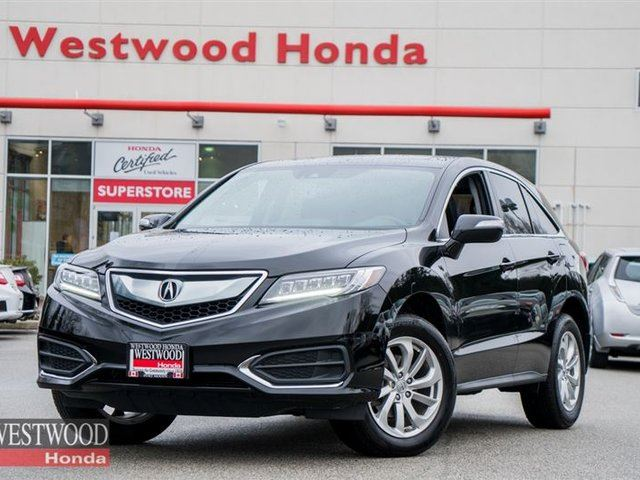 2016 ACURA RDX Base w/Technology Package in Port Moody, British Columbia
