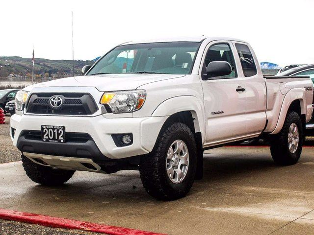 2012 toyota tacoma trd off road access cab kelowna. Black Bedroom Furniture Sets. Home Design Ideas
