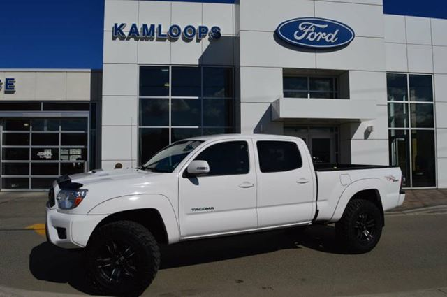 2013 TOYOTA TACOMA V6 4x4 Double-Cab 140.6 in. WB in Kamloops, British Columbia