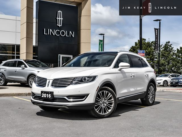 2016 LINCOLN MKX Reserve in Ottawa, Ontario