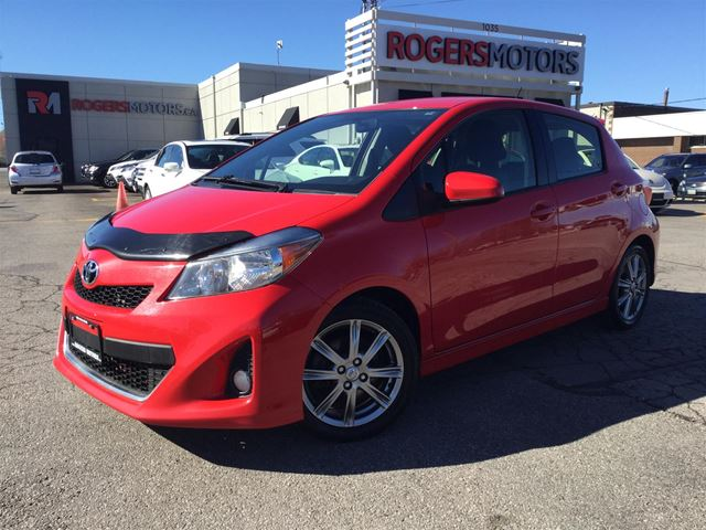2013 TOYOTA YARIS SE - 5SPD - BLUETOOTH - POWER PKG in Oakville, Ontario