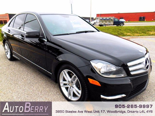 2012 mercedes benz c class c250 4matic woodbridge for Average insurance cost for mercedes benz c300