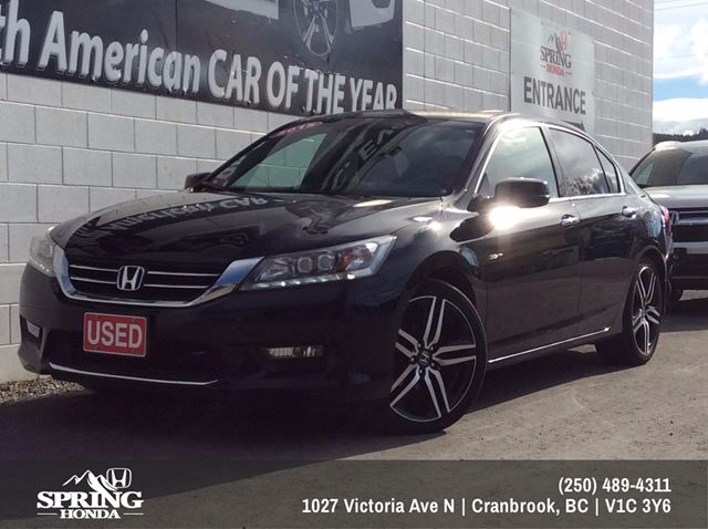2015 Honda Accord Touring V6 $217 Bi-Weekly in Cranbrook, British Columbia