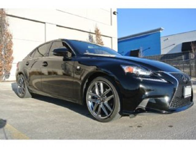 2014 LEXUS IS 250 F Sport  3 AWD in Mississauga, Ontario