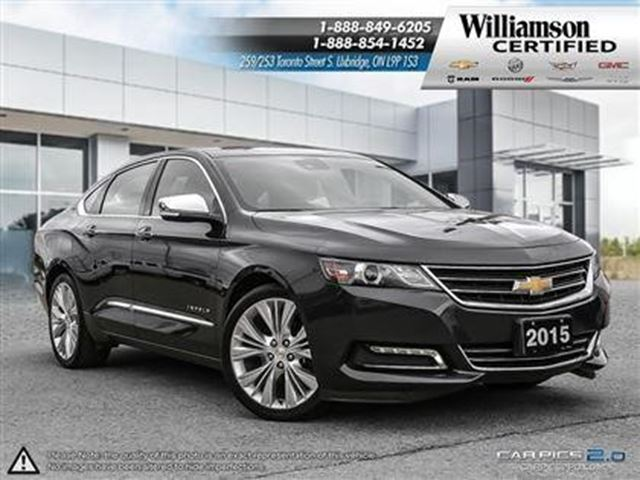 2015 Chevrolet Impala LTZ in Uxbridge, Ontario