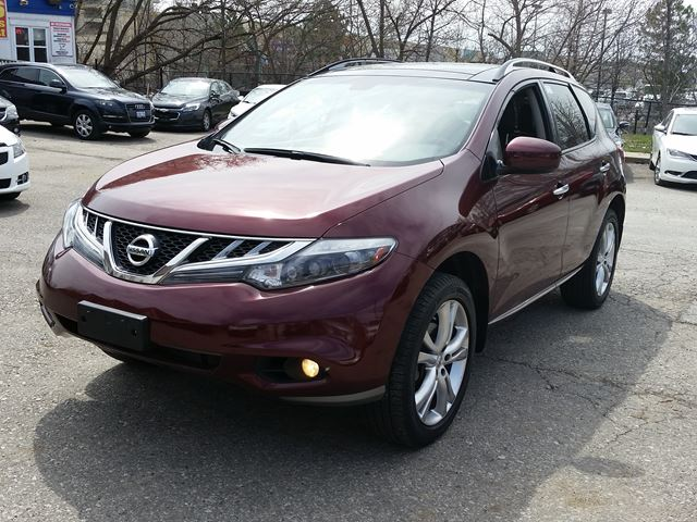 2011 Nissan Murano LE AWD PANORAMIC ROOF leather back camera in Mississauga, Ontario