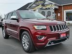 2016 Jeep Grand Cherokee Overland 4x4, Leather Heated/Vented Seats, Pano Roof, NAV, Air Suspension in Paris, Ontario
