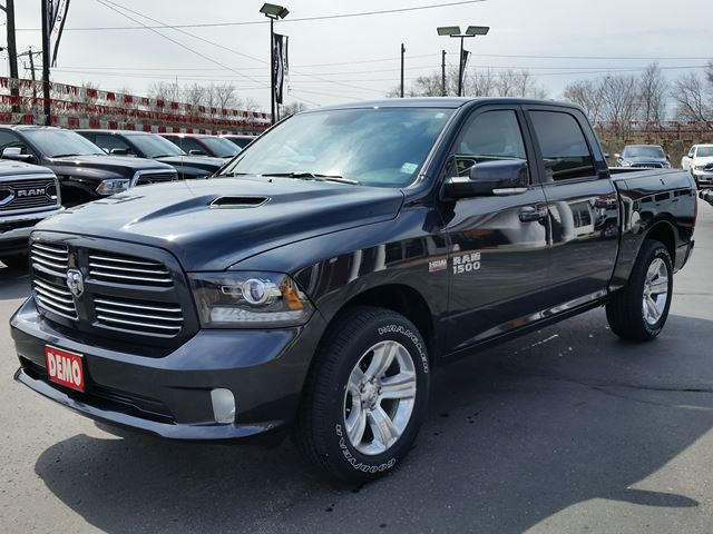 2017 dodge ram 1500 sport 4x4 rambox heated seats wheel sunroof paris ontario car for sale. Black Bedroom Furniture Sets. Home Design Ideas