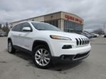 2016 Jeep Cherokee LIMITED 4X4, NAV, LEATHER, V6, 20K! in Stittsville, Ontario
