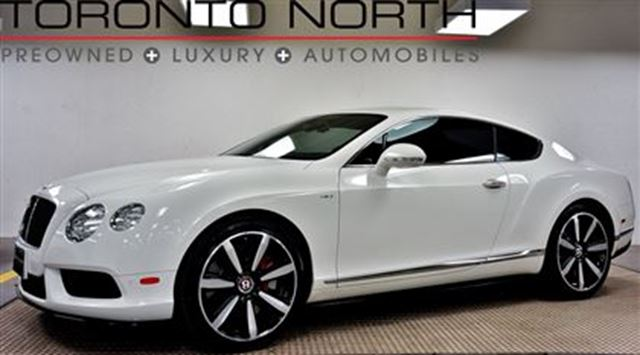2014 Bentley Continental V8 S MULLINER NO ACCIDENT in Toronto, Ontario