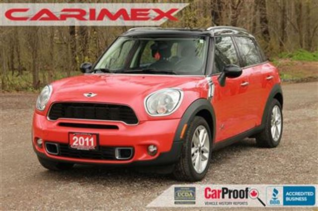 2011 MINI COOPER Countryman CERTIFIED + E-Tested in Kitchener, Ontario