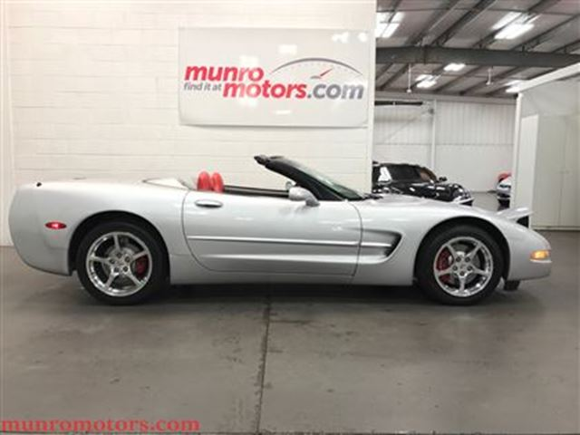 2002 Chevrolet Corvette SOLD SOLD SOLD Loaded 1SB Convertible Auto Low KMs in St George Brant, Ontario