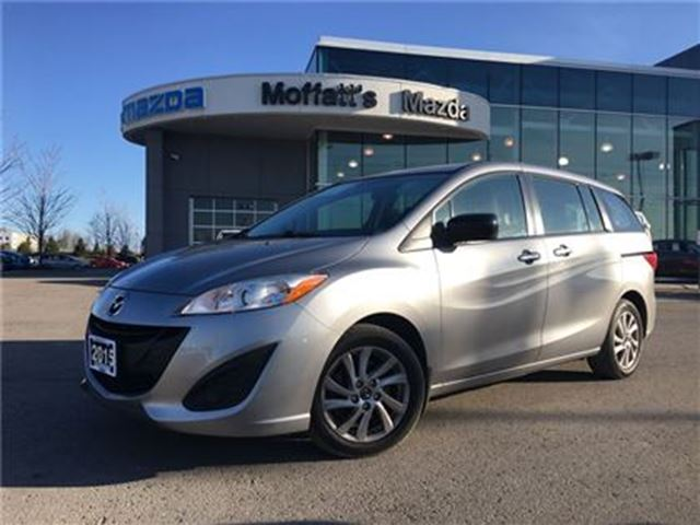 2015 Mazda MAZDA5 GS BLUETOOTH, CRUISE, 6-PASSENGER, SLIDING DOORS in Barrie, Ontario