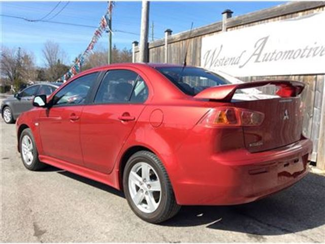 2009 mitsubishi lancer se ottawa ontario car for sale 2752486. Black Bedroom Furniture Sets. Home Design Ideas