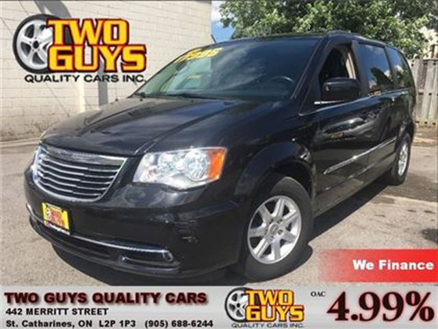 2012 CHRYSLER TOWN AND COUNTRY TOURING SUNROOF DVD ALLOYS PWR SLIDERS in St Catharines, Ontario
