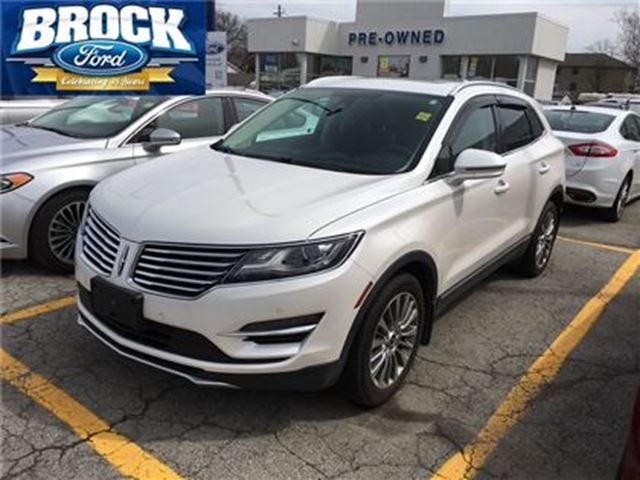 2016 LINCOLN MKC Reserve - No Accidents,1 owner,local trade in Niagara Falls, Ontario