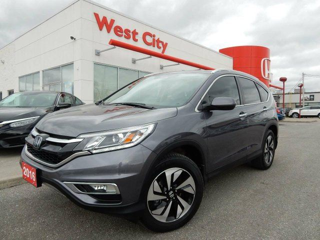 2016 Honda CR-V Touring,GPS,LEATHER,SUNROOF! in Belleville, Ontario
