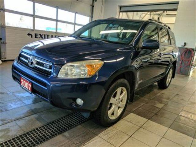 2007 TOYOTA RAV4 Limited V6 AWD - NEW TIRES - No Accidents! in Thunder Bay, Ontario