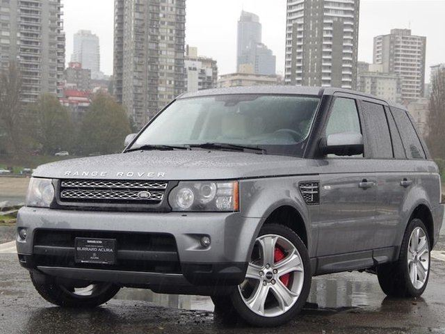 2013 LAND ROVER RANGE ROVER Sport V8 Supercharged (SC) in Vancouver, British Columbia