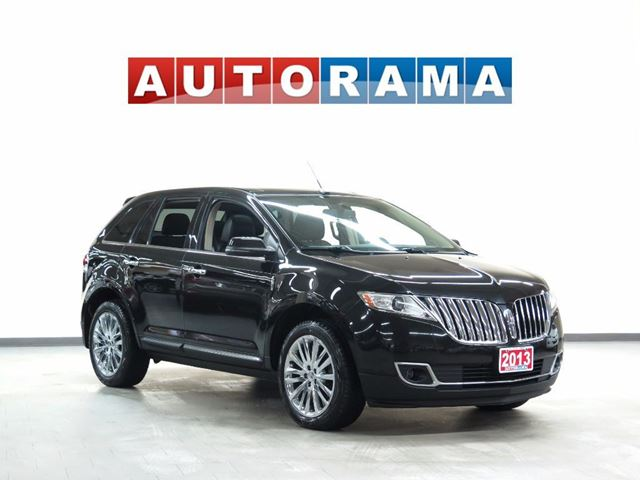 2013 LINCOLN MKX LTD NAVIGATION LEATHER PANORAMIC SUNROOF AWD BA in North York, Ontario