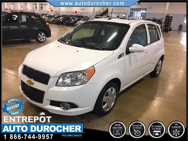 2011 Chevrolet Aveo LT TOUT n++QUIPn++ AIR CLIMATISn++ TOIT OUVRANT in Laval, Quebec