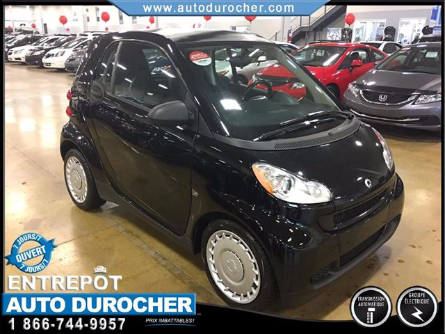 2011 Smart Fortwo TOUT n++QUIPn++ SIn++GES CHAUFFANTS AIR CLIMATISn++ in Laval, Quebec