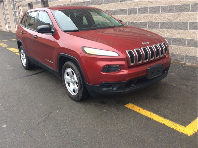 2015 JEEP CHEROKEE SPORT/PWR OPTS/6CYL/BLUETOOTH/BACK UP CAM in Dartmouth, Nova Scotia