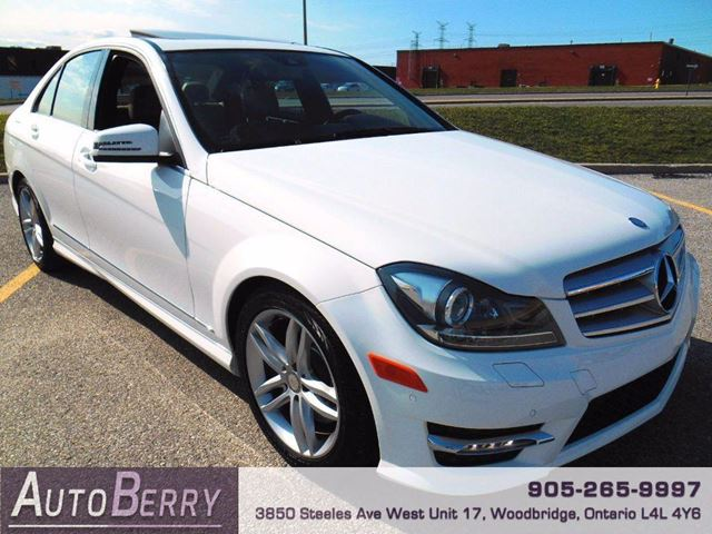 2013 mercedes benz c class c300 4matic woodbridge for Average insurance cost for mercedes benz c300