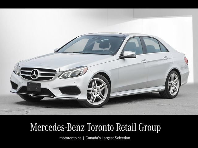 2014 Mercedes-Benz E-Class E350 4MATIC Sedan in Maple, Ontario