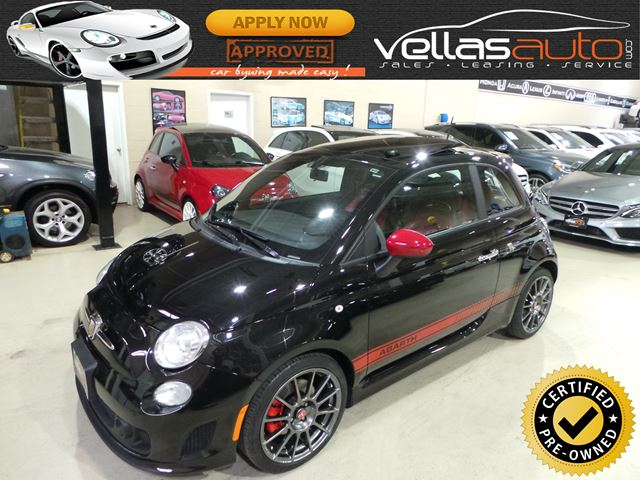 2013 FIAT 500 Abarth ABARTH| PANO RF|LTHR| BEATS BY DRE|5SPD in Vaughan, Ontario