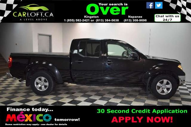 2012 Nissan Frontier SV CREW 4X4 - KEYLESS ENTRY*A/C*SOFT TONNEAU COVER in Kingston, Ontario