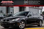 2006 BMW 5 Series Sunroof Clean CarProof HTD Frnt Seats Bluetooth Keyless_Entry 17Alloys in Thornhill, Ontario