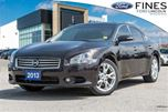 2013 Nissan Maxima SV - LEATHER, ROOF, NAVI, WINTER TIRES! in Bolton, Ontario