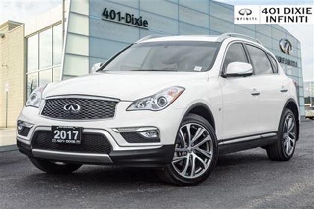 2017 INFINITI QX50 AWD, Navigation Pkg! Moonroof! 325 HP! in Mississauga, Ontario
