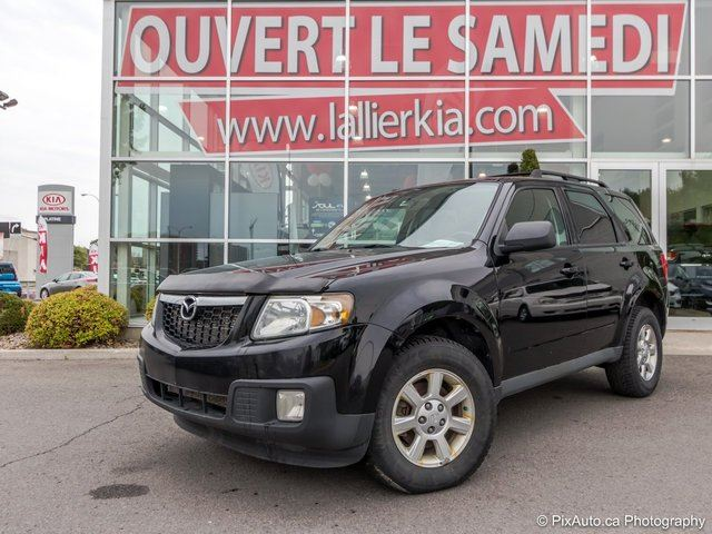 2010 Mazda Tribute GT 4X4 V6 CUIR TOIT OUVRANT CAMERA RECUL GT 4X4 V6 CUIR TOIT OUVRANT in Laval, Quebec