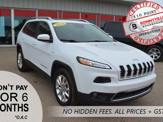 2014 JEEP CHEROKEE LIMITED, EXCELLENT CONDITION, LOW KMS in Bonnyville, Alberta