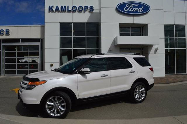 2015 FORD EXPLORER Limited 4dr 4x4 in Kamloops, British Columbia