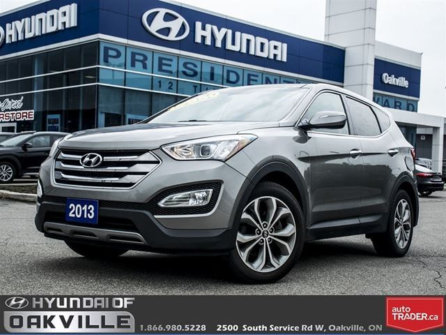 2013 HYUNDAI SANTA FE 2.0T SE  LEATHER  PAN ROOF  CAM  ONE OWNER in Oakville, Ontario