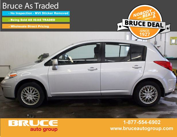 2008 Nissan Versa 1.8L 4 CYL AUTOMATIC FWD 5D HATCHBACK in Middleton, Nova Scotia
